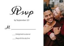 LOVE - RSVP card