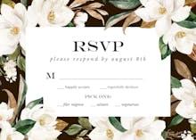 Magnolia - RSVP card