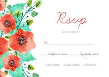 Royal Garden - RSVP card