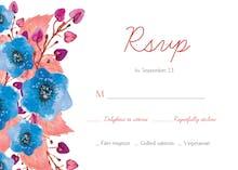Royal Garden - RSVP card