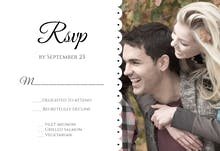 Two To One - RSVP card