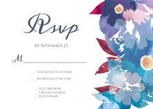 Watercolor Classic - RSVP card
