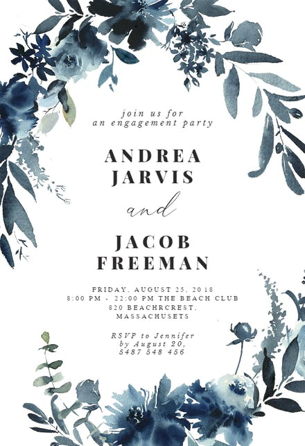 Engagement Party Invitation Templates (Free) | Greetings Island