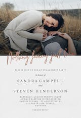 Just Love - Engagement Party Invitation