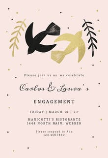 Slow Dance - Engagement Party Invitation