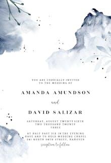 Aquarelle - Wedding Invitation