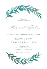 Bay Laurel - Wedding Invitation