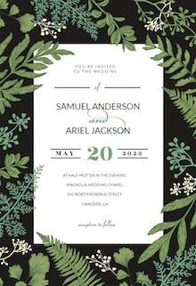 Botany Final - Wedding Invitation