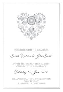 Celebrate Their Marriage - Wedding Invitation