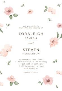 Cherry blossom - Wedding Invitation