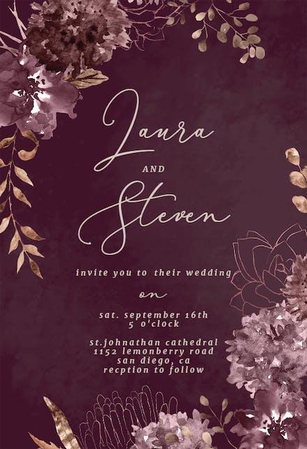 indian wedding invitation card templates free