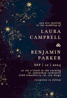 Cosmic Star - Wedding Invitation
