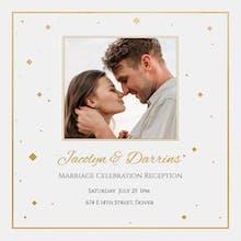 Diamond Day - Wedding Invitation