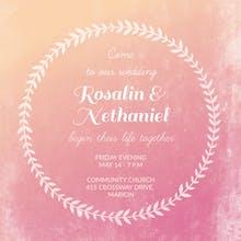Diamond Dream - Wedding Invitation