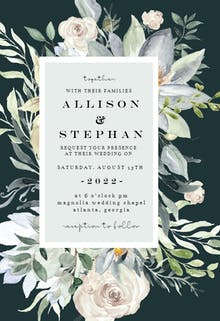 Eucalyptus Charm - Wedding Invitation
