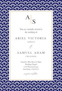 Fancy Shells - Wedding Invitation