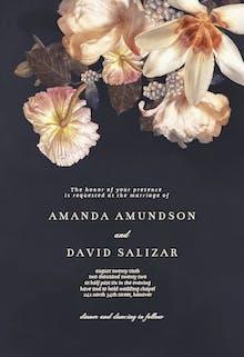 Floristry - Wedding Invitation