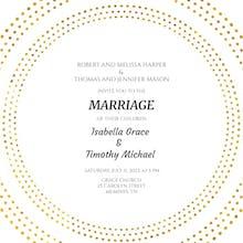 Forever Rings - Wedding Invitation