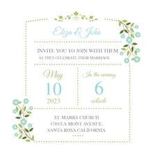 Garden - Wedding Invitation