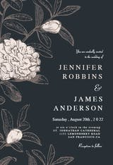 Gentle flora - Wedding Invitation