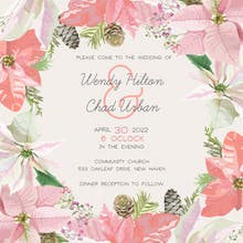 Happily Ever After - Wedding Invitation