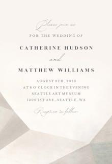 Hint of sands - Wedding Invitation