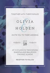 Inked Frame - Wedding Invitation