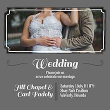 Inviting Image - Wedding Invitation