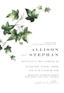 Ivy - Wedding Invitation