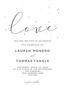 Love - Wedding Invitation
