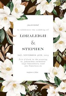 Magnolia - Wedding Invitation