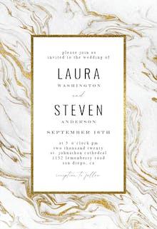 Marble - Wedding Invitation