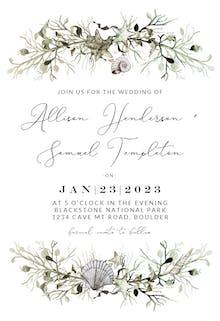 Marine Nautical - Wedding Invitation