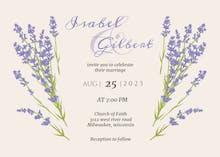 Minimal Floral - Wedding Invitation
