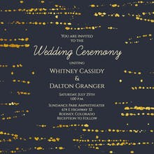 Modern Marriage - Wedding Invitation
