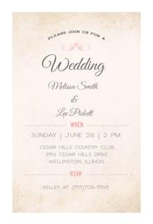Modern Media - Wedding Invitation