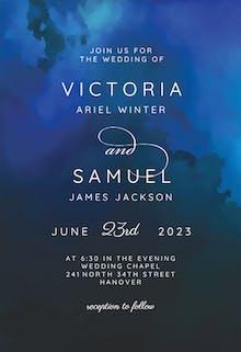 Night Time - Wedding Invitation