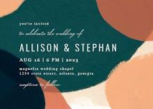 Paintery - Wedding Invitation