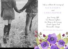 Royal Garden - Wedding Invitation