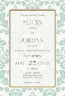 Rustic Frame - Wedding Invitation