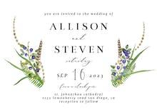 Rustic - Wedding Invitation
