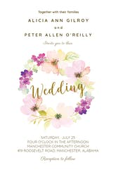 Sentimental Circle - Wedding Invitation
