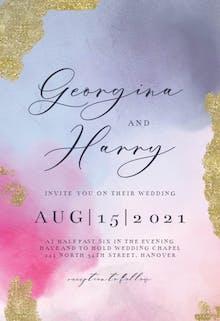 Shades of love - Wedding Invitation