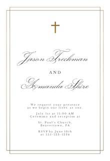 Simple - Wedding Invitation