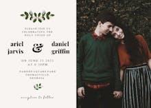Soft Botanical - Wedding Invitation