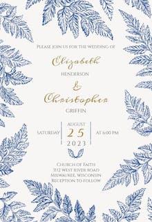 Stunning Rustic - Wedding Invitation