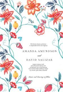 Sweet blossom - Wedding Invitation