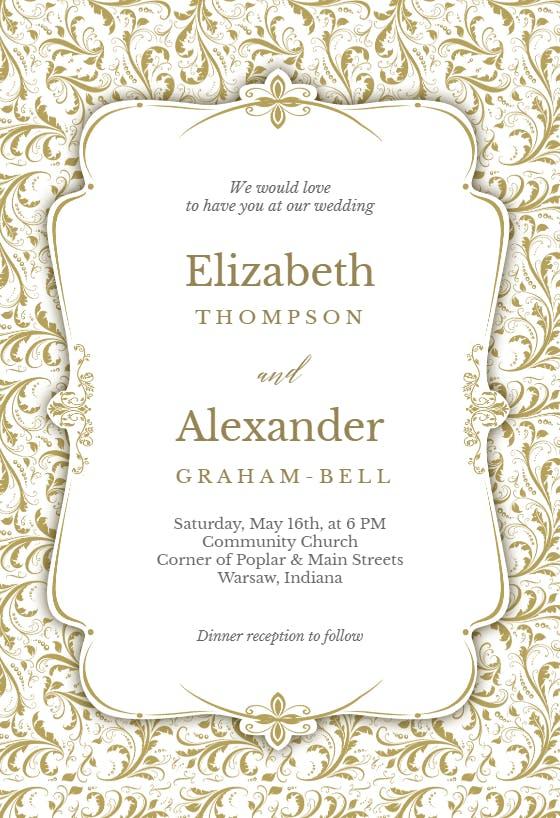 weddinginvitation template