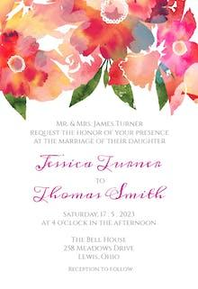 Watercolor Classic - Wedding Invitation
