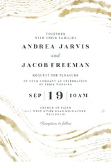Wedding waves - Wedding Invitation